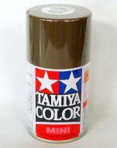 【新品】塗料・工具 塗料 TS-90 茶色(陸上自衛隊) 「タミヤカラースプレー」 [85090]