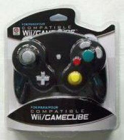 【中古】NGCハード Wii/GAMECUBE COMPATIBLE CONTROLLER (BLACK) [M05819-BK]
