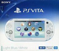 【中古】PSVITAハード PlayStation Vita本体 Wi-Fiモデル ライトブルー・ホワイト[PCH-2000]