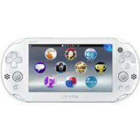 【中古】PSVITAハード PlayStation Vita本体 Wi-Fiモデル ホワイト[PCH-2000]