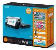 【中古】WiiUハード Wii U本体 すぐに遊べるファミリープレミアムセット(クロ)