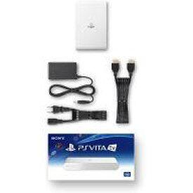 【エントリーでポイント最大27倍!(7月15日限定!)】【中古】PSVITAハード PlayStation Vita TV本体 ホワイト[VTE-1000AB01]