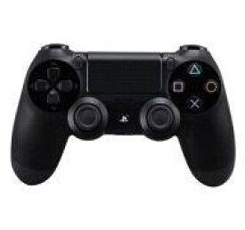 【中古】PS4ハード ワイヤレスコントローラー[DUALSHOCK4] ジェット・ブラック