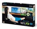 【中古】WiiUソフト Wii Fit U バランスWiiボードセット kuro