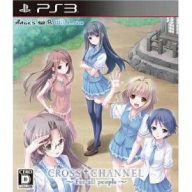 【中古】PS3ソフト CROSS CHANNEL 〜For all people〜[通常版]