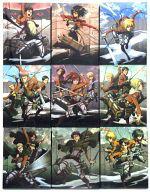 【中古】アニメBlu-ray Disc 進撃の巨人 初回版 全9巻セット