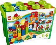 【中古】おもちゃ LEGO みどりのコンテナスーパーデラックス 「レゴ デュプロ」 10580