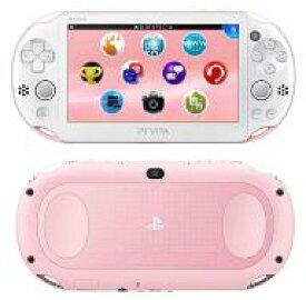【中古】PSVITAハード PlayStation Vita本体 Wi-Fiモデル ライトピンク・ホワイト[PCH-2000]