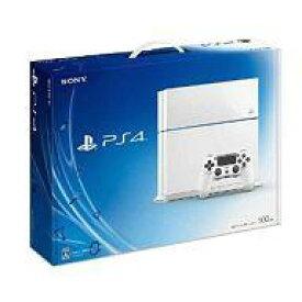 【中古】PS4ハード プレイステーション4本体 グレイシャー・ホワイト(HDD 500GB / CUH-1100AB02)