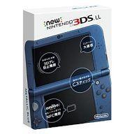 【中古】ニンテンドー3DSハード Newニンテンドー3DSLL本体 メタリックブルー