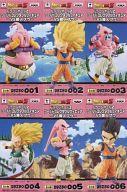 【中古】フィギュア 全6種セット 「ドラゴンボールZ」 ワールドコレクタブルフィギュア〜VS魔人ブゥ〜