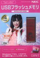 【中古】家電サプライ他(女性) 渡辺麻友(AKB48) USBフラッシュメモリ4GB NEC2011春モデル購入記念品