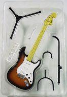 【中古】食玩 トレーディングフィギュア 70s STRATOCASTER-ストラトキャスター- 3color Sunburst フェンダー・ギター・コレクション