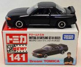 【中古】ミニカー 1/59 頭文字D スカイライン GT-R R32(ブラック) 「ドリームトミカ No.141」