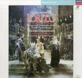 【中古】LD ニコラウス・アーノンクール/モンテヴェルディ:歌劇「オルフェオ」【タイムセール】