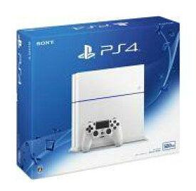 【エントリーでポイント10倍!(4月16日01:59まで!)】【中古】PS4ハード プレイステーション4本体 グレイシャー・ホワイト(HDD 500GB/CUH-1200AB02)