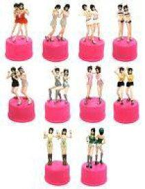 【中古】ペットボトルキャップ 全10種セット 「ピンク・レディー ボトルキャップコレクション」 セブンイレブン限定