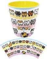 【中古】マグカップ・湯のみ(キャラクター) 集合 メラミンカップ 「ねこあつめ」