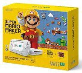 【中古】WiiUハード WiiU本体 スーパーマリオメーカーセット