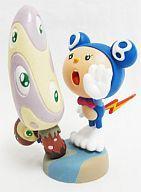 【中古】食玩 トレーディングフィギュア Mr.DOB&Mushrooms/Light blue 村上隆のSUPER FLAT MUSEUM 六本木ヒルズ エディション