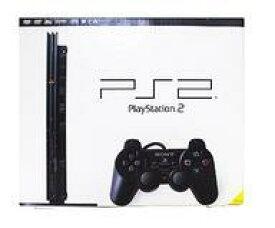 【中古】PS2ハード プレイステーション2本体 チャコールブラック(SCPH-70000CB)(状態:内蔵電池切れ)