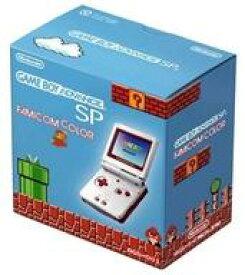【中古】GBAハード ゲームボーイアドバンスSP本体 ファミコンカラー(状態:箱(内箱含む)・本体状態難)