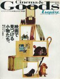 【中古】カルチャー雑誌 CINE-BOOK vol.2 Cinema&Goods エスクァイア日本版8月号(別冊)