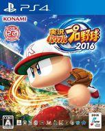 【中古】PS4ソフト 実況パワフルプロ野球2016