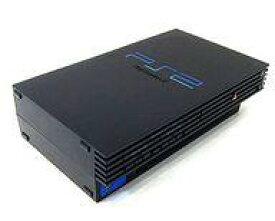【中古】PS2ハード プレイステーション2本体 ミッドナイト・ブラック(SCPH-50000NB)(状態:内蔵電池切れ/本体単品/付属品無) (箱説なし)