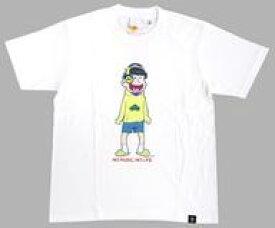 【中古】Tシャツ(キャラクター) 十四松 Tシャツ ホワイト Mサイズ 「おそ松さん×TOWER RECORDS」 オープン記念限定