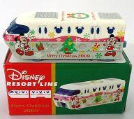 【中古】ミニカー ディズニーリゾートライン メリークリスマス 2009Ver.(ホワイト×ピンク×グレー) 「トミカ」 東京ディズニーリゾート限定