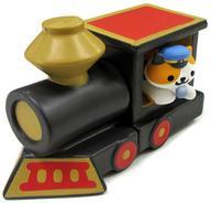 【中古】トレーディングフィギュア えきちょうさん&機関車デラックス 「ねこあつめ つくえのうえでねこあつめ3」