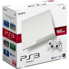 【中古】PS3ハード プレイステーション3本体 クラシック・ホワイト(HDD 160GB/CECH-3000ALW) (状態:AVケーブル欠品)