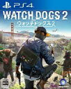 【新品】PS4ソフト WATCH DOGS2(18歳以上対象)
