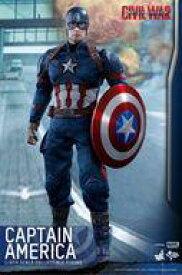 【中古】フィギュア キャプテン・アメリカ 「シビル・ウォー/キャプテン・アメリカ」 ムービー・マスターピース 1/6 アクションフィギュア