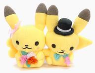【中古】ぬいぐるみ ピカチュウ Pokemon little tales [flower wagon] ピカチュウペアぬいぐるみ 「ポケットモンスター」 ポケモンセンター限定