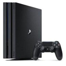 【中古】PS4ハード プレイステーション4 Pro本体 ジェットブラック(HDD 1TB/CUH-7000BB01)