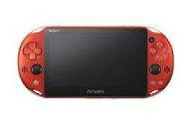 【中古】PSVITAハード PlayStation Vita本体 Wi-Fiモデル メタリック・レッド[PCH-2000ZA26]