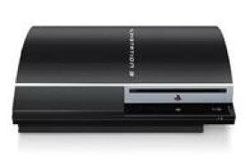 【中古】PS3ハード プレイステーション3本体 クリアブラック(HDD 80GB) (状態:本体のみ/本体状態難)