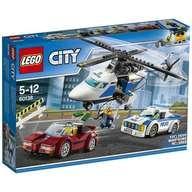 【中古】おもちゃ LEGO ポリスヘリコプターとポリスカー 「レゴ シティ」 60138