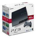 【中古】PS3ハード プレイステーション3本体 チャコール・ブラック(HDD 160GB) (状態:説明書欠品)