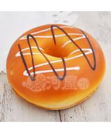 【新品】スクイーズ(食品系/おもちゃ) 野いちご 柔らかチョコかけドーナッツ マザーガーデン