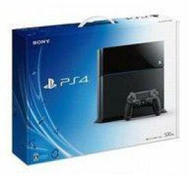 【中古】PS4ハード プレイステーション4本体 ジェットブラック(HDD 500GB/CUH-1100AB01) (状態:コントローラ欠品)