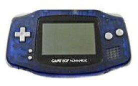 【中古】GBAハード GBAH ゲームボーイアドバンスミッドナイトブルー トイザらス10th記念 (状態:本体のみ/本体状態難)