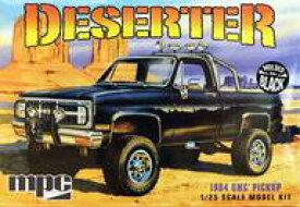 【新品】プラモデル 1/25 1984 GMC ピックアップトラック 成形色:ブラック [MPC848]