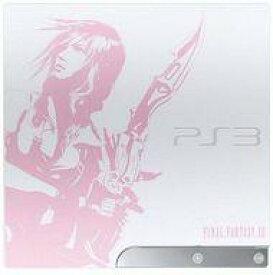【中古】PS3ハード プレイステーション3本体 ファイナルファンタジー XIII LIGHTNING EDITION (状態:本体のみ/本体状態難)