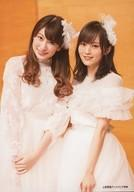 【中古】生写真(AKB48・SKE48)/アイドル/NMB48 吉田朱里・山本彩/CD「願いごとの持ち腐れ」上新電機ディスクピア特典生写真