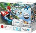 【中古】WiiUハード WiiU本体 マリオカート8セット shiro(状態:Wii Uゲームパッド状態難)