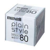 【中古】MDディスク 録音用ミニディスク plain style 80分 10PACK [PLMD80.10P]