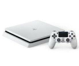 【中古】PS4ハード プレイステーション4本体 グレイシャー・ホワイト(HDD 500GB/CUH-2100AB02)